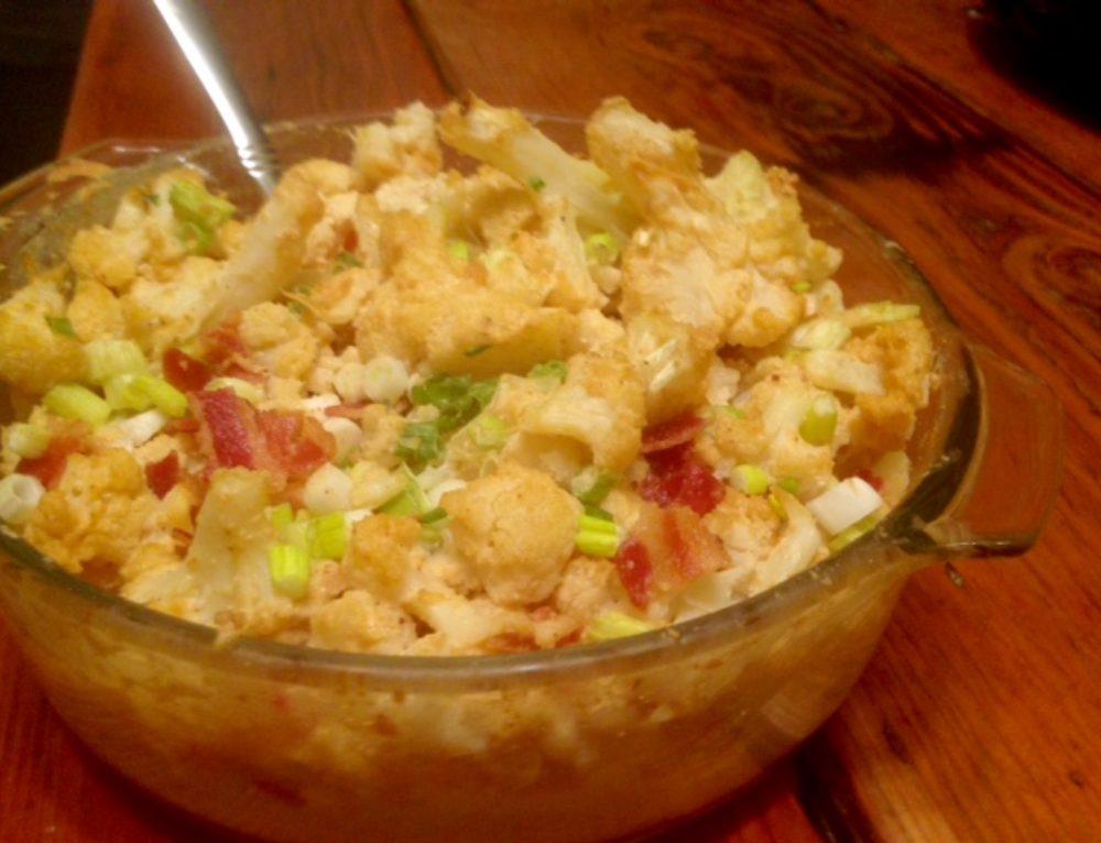 Cheezy Cauliflower Casserole