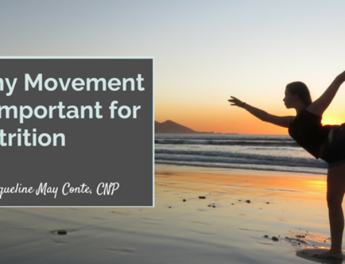 Why Movement Is Important for Nutrition