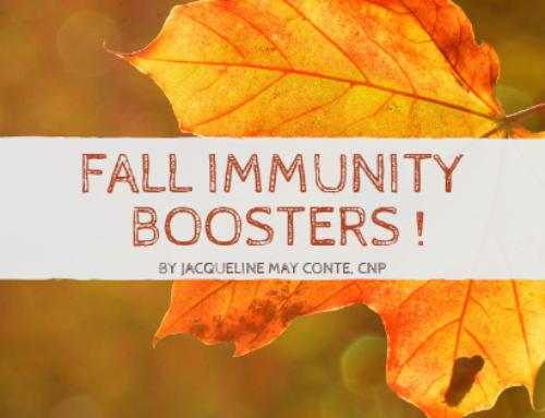Fall Immunity Boosters
