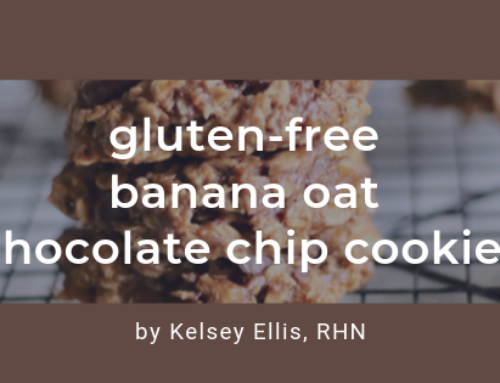Gluten-Free Banana Oat Chocolate Chip Cookies